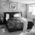 Lenjerie De Pat Mila - antracit/negru, Lifestyle, textil (140/200cm) - Modern Living