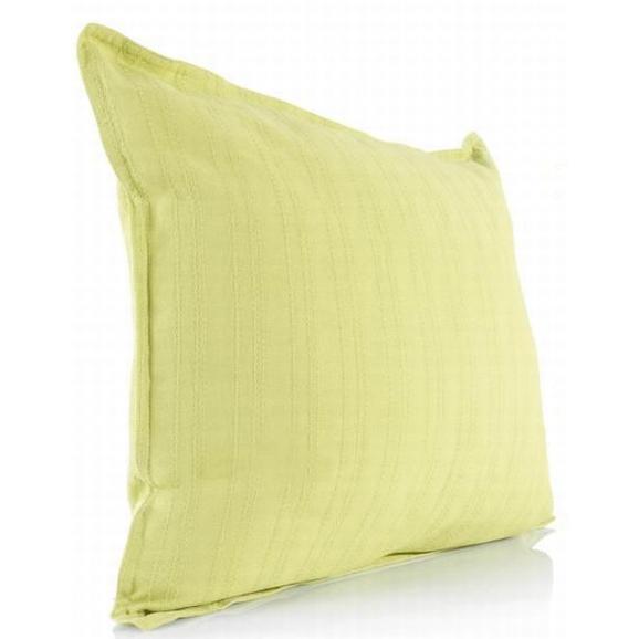 Díszpárna Solid One - Zöld, Textil (40/40cm)