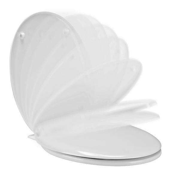 WC-Sitz LUKA - Weiß, Kunststoff (37.3/5.7/45cm) - Mömax modern living