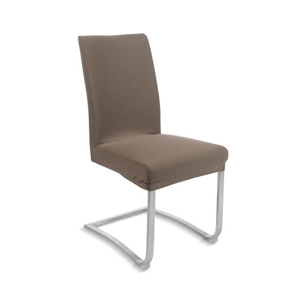 Prevleka Za Stol Dominik -ext- - sivo rjava, tekstil (48/64/48cm) - Mömax modern living
