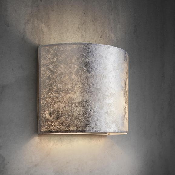 Wandleuchte Emelle in Chrom-Optik - Chromfarben, MODERN, Metall (31/20cm) - MÖMAX modern living