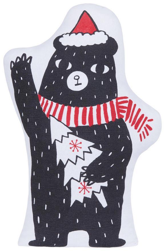 Zaustavljalec Vrat Crazy - rdeča/črna, tekstil (14/35cm) - Mömax modern living