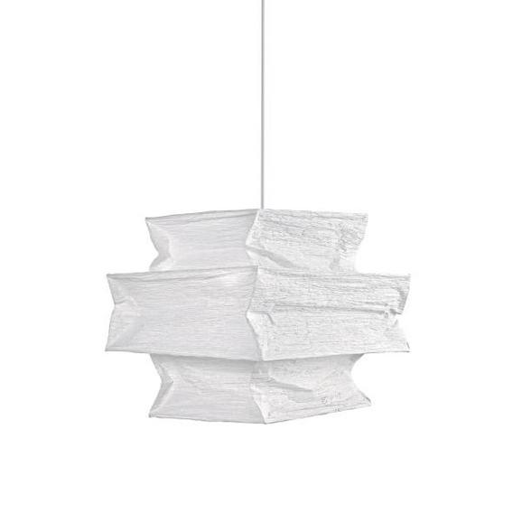 Abajur Juliette - alb, hârtie (38/34/38cm) - Modern Living