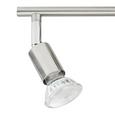 LED-Strahler Fritz, max. 4x3 Watt - Nickelfarben, KONVENTIONELL, Metall (60cm) - Based