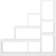 Raumteiler Weiß 7 Fächer - Weiß, MODERN, Holzwerkstoff (155/155/35cm) - Mömax modern living