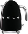 Wasserkocher Klf03bleu Schwarz, 1,7l - Schwarz (22,3/24,8/17,1cm) - SMEG