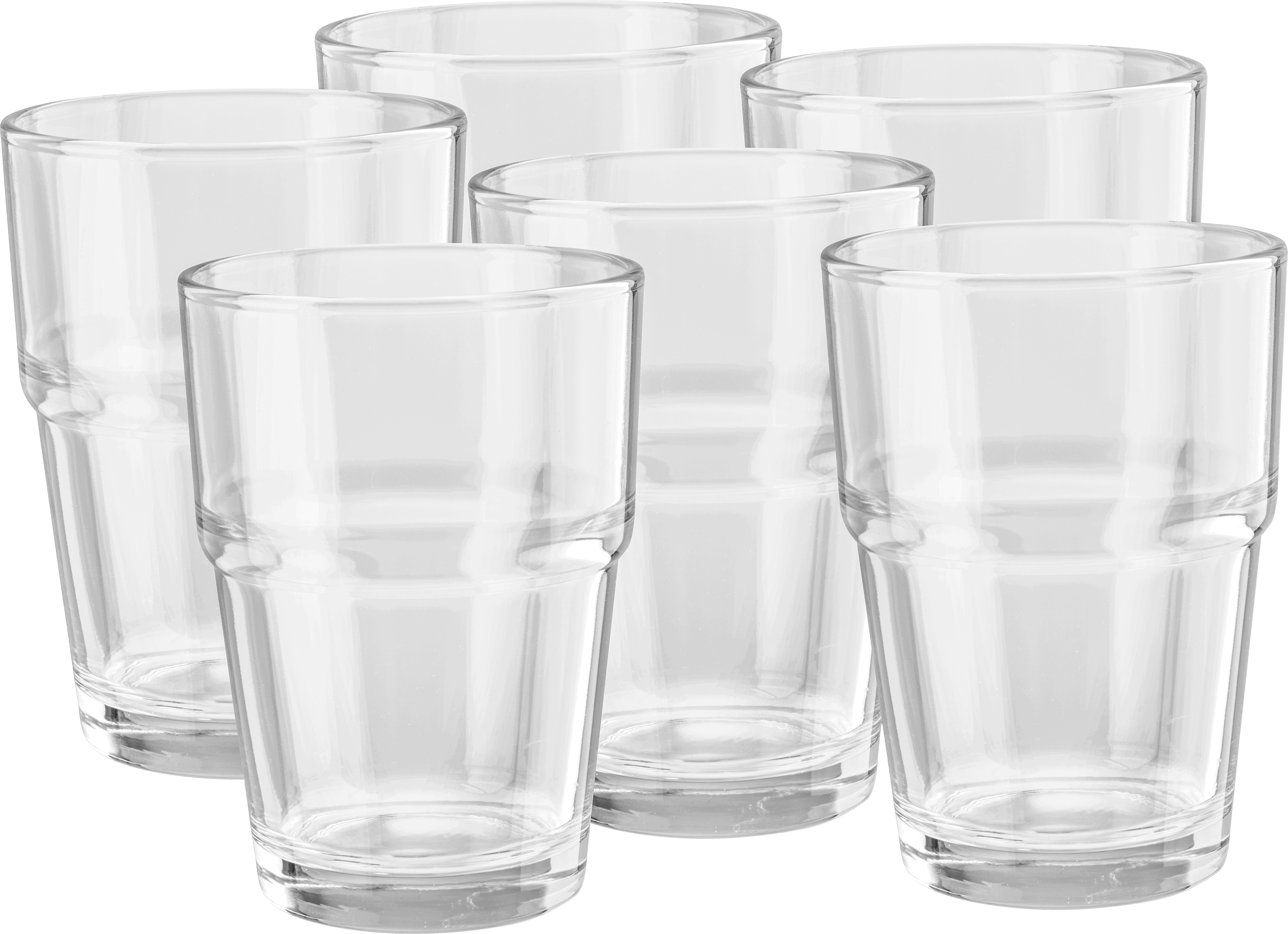 Set Kozarcev Tabitha - prozorna, steklo (7,5/10,5cm) - MÖMAX modern living