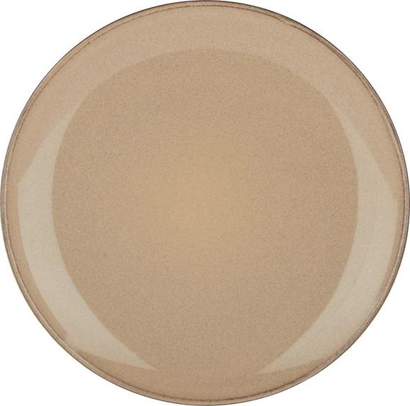 Desertni Krožnik Uri - naravna, Trendi, keramika (20,5cm) - Mömax modern living