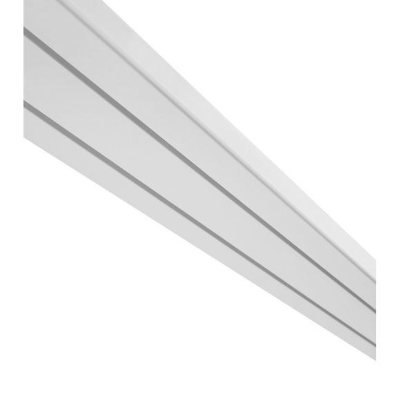 Vorhangschiene Amelia Weiß, ca. 180cm - Weiß, Kunststoff (180/7.8/1.7cm) - Mömax modern living