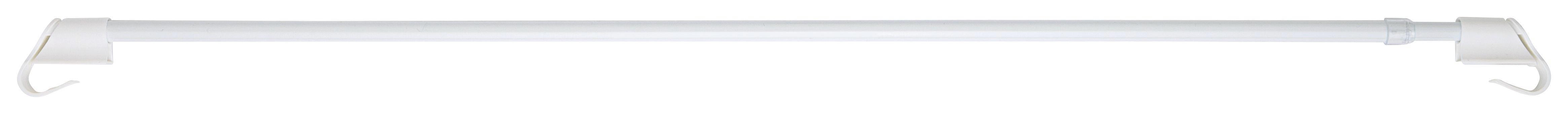Klemmstange Connect in Weiß, ca. 85-135cm - Weiß, Kunststoff/Metall (85-135cm) - MÖMAX modern living