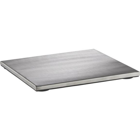 Podstavek Za Posodo Fabienne - nerjaveče jeklo, kovina (18/18cm) - Mömax modern living