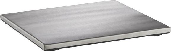 Topfuntersetzer Fabienne aus Edelstahl - Edelstahlfarben, Metall (18 18 cm) - Mömax modern living