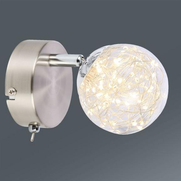 LED-Strahler Kiko,  Max. 1x3 Watt - MODERN, Glas/Metall (9/17cm) - Premium Living