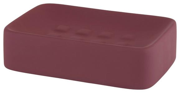 Seifenschale Carina In Mauve aus Keramik - Aubergine, Keramik (8,3/12,5cm) - Mömax modern living