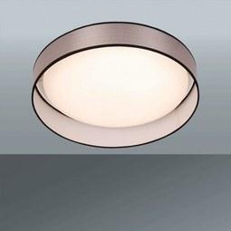 Stropna Led-svetilka Gildo - siva, Romantika, umetna masa (37/9,6cm) - Premium Living