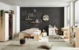 Stenski Regal Palette -sb- - bor, les (80/5/24cm) - Mömax modern living