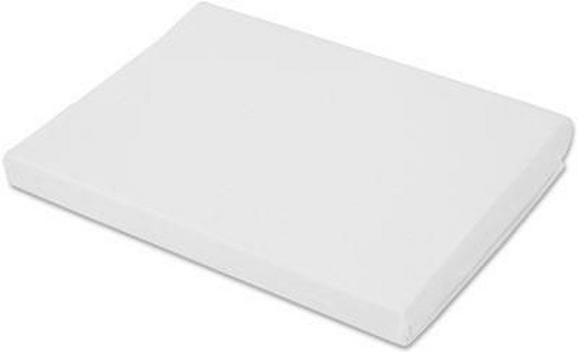 Spannleintuch Basic in Weiß, ca. 180x200cm - Weiß, Textil (180/200cm) - MÖMAX modern living