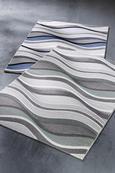 Webteppich Bill Blau 160x230cm - Blau, MODERN, Textil (160/230cm) - Mömax modern living