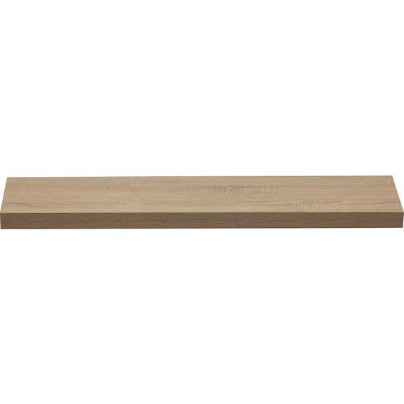 Poliță De Perete Anja Eiche - culoare lemn stejar, compozit lemnos (100/4,4/24cm)
