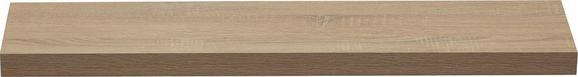 Wandboard in Eiche - Eichefarben, Holzwerkstoff (100/4,4/24cm) - Mömax modern living