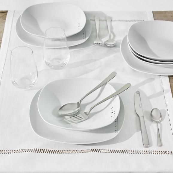 Tafelservice Fadilla 12-teilig - Weiß, MODERN - Mäser