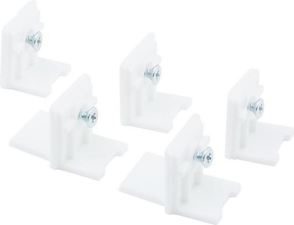 mitnehmer Tim - Weiß, Kunststoff (2  cm) - MÖMAX modern living