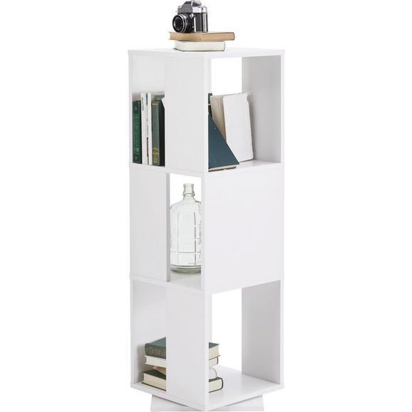 Regal Netto - bela, Moderno, leseni material (34/108/34cm) - Mömax modern living