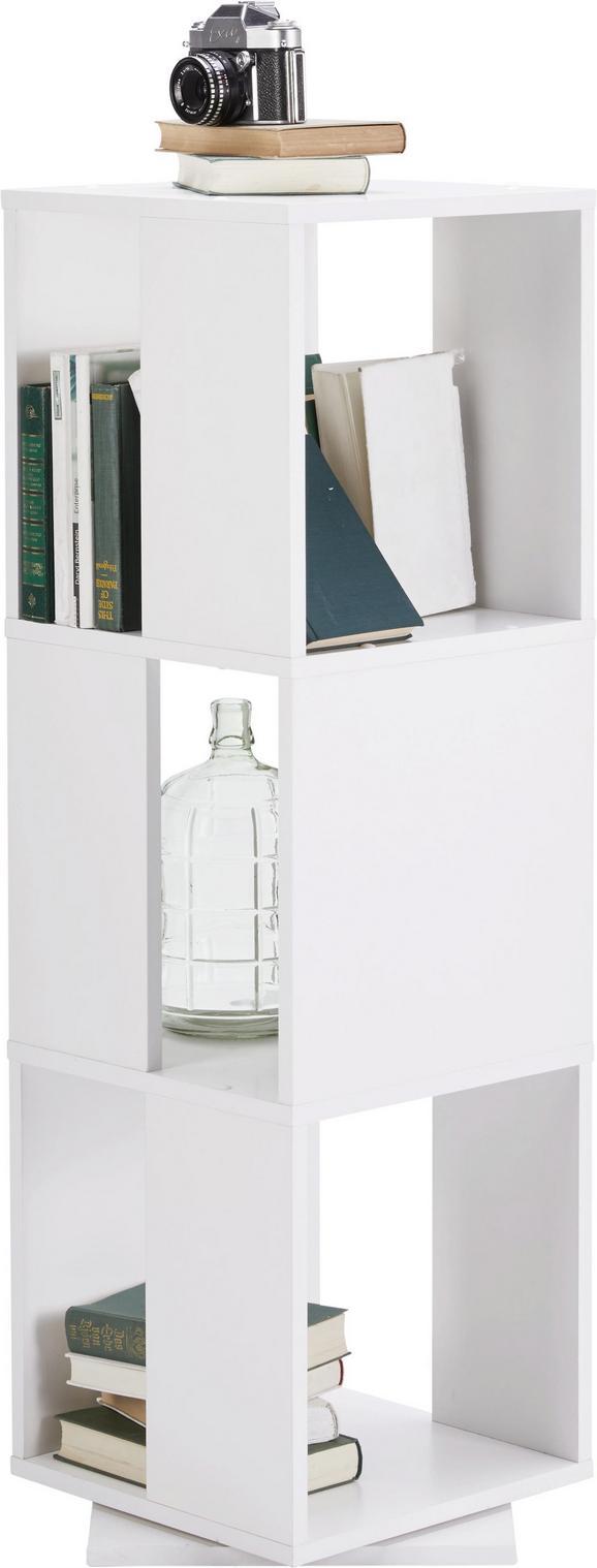 Regal Weiß - Weiß, MODERN, Holzwerkstoff (34/108/34cm) - Mömax modern living