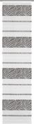 Flächenvorhang Anita in Grau, ca. 60x245cm - Grau, KONVENTIONELL, Textil (60/245cm) - MODERN LIVING