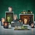 Teelichthalter Janin inkl. Gläser ca. 36/11,8cm - Klar/Multicolor, MODERN, Glas/Metall (36/8/11,8cm) - Bessagi Home