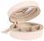 Schmuckschatulle Java Hellrosa - Hellrosa, Basics, Textil/Weitere Naturmaterialien (10.5/4.5cm)