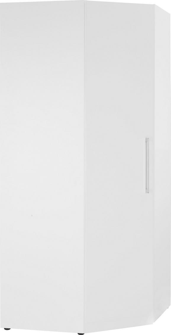 Eckkleiderschrank weiß hochglanz  Eckschrank Kristallweiß Hochglanz online kaufen ➤ mömax