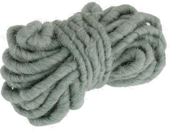Filzband Lana in Dunkelgrün - Dunkelgrün, Textil (5/11cm) - MÖMAX modern living