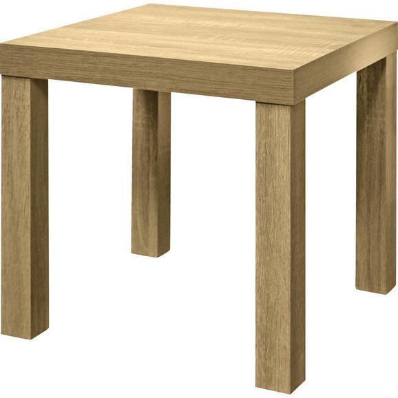 Masă Auxiliară Normen - stejar Sonoma, Modern, compozit lemnos (39/40/39cm)