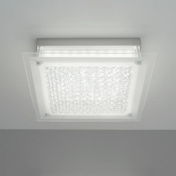 Mennyezeti Lámpa Magnus - modern, üveg/fém (45/45/10,3cm) - MÖMAX modern living
