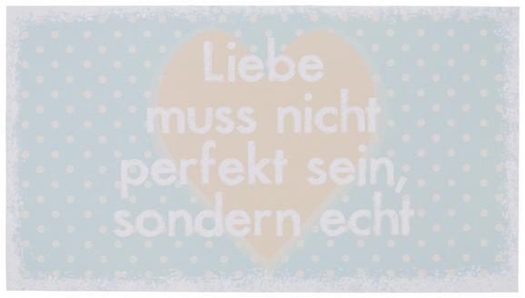 Dekopaneel Sarah, ca. 15x1,1x27cm - Multicolor, ROMANTIK / LANDHAUS, Holzwerkstoff (15/1,1/27cm)