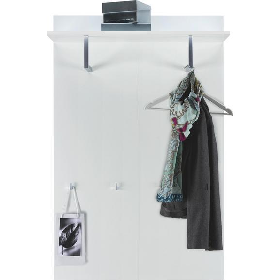 Garderobni Panel Flap - bela, Trendi, leseni material (84/130/32,6cm) - Mömax modern living