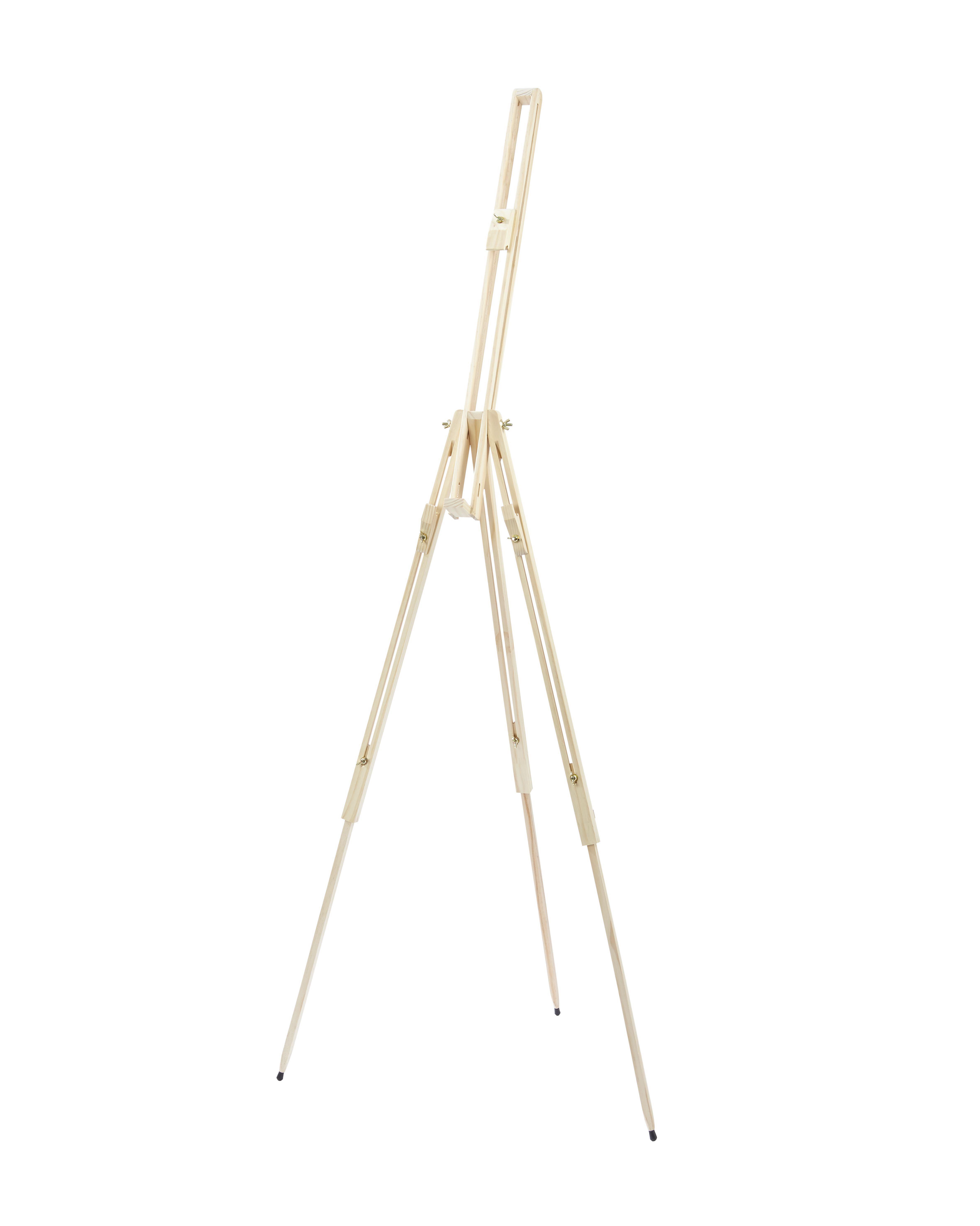 Slikarsko Stojalo 51002 - naravna, les (180cm)