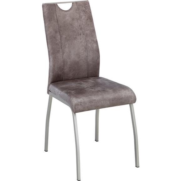 Stol Koper - Moderno, kovina/umetna masa (43/102/58cm) - Mömax modern living