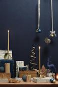 Okrasna Žival Rentier - 2-delni Set - rdeča/siva, umetna masa (14/4/26cm) - Mömax modern living
