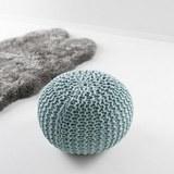 POUF MARTIN - Blau, MODERN, Textil (50/50/30cm) - Mömax modern living
