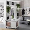 Canapea Jan - alb/negru, Lifestyle, plastic/lemn (180/79/92cm) - Mömax modern living