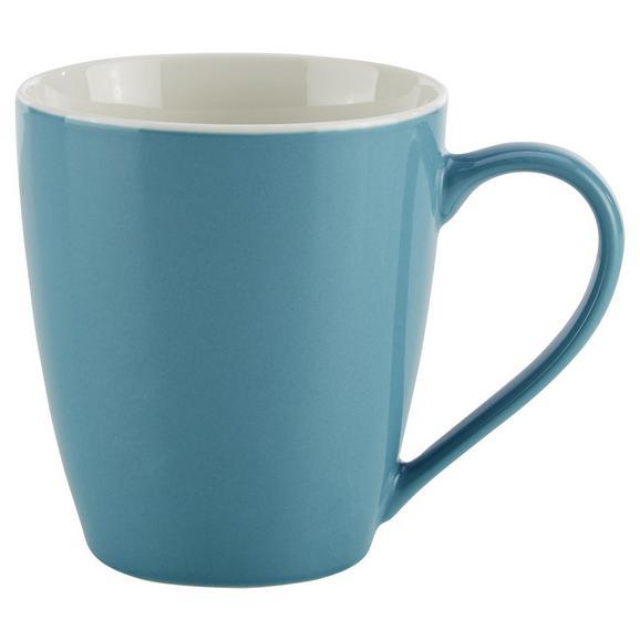 Lonček Za Kavo Sandy - modra, Konvencionalno, keramika (8,9/10cm) - Mömax modern living