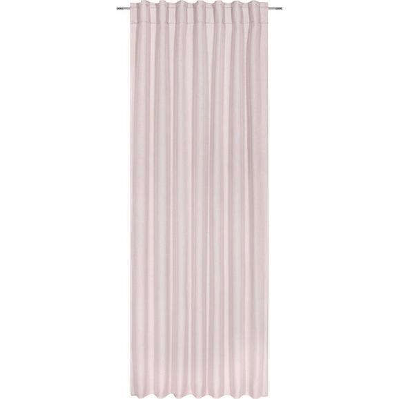 Končana Zavesa Jakob - roza, tekstil (140/245cm) - Mömax modern living