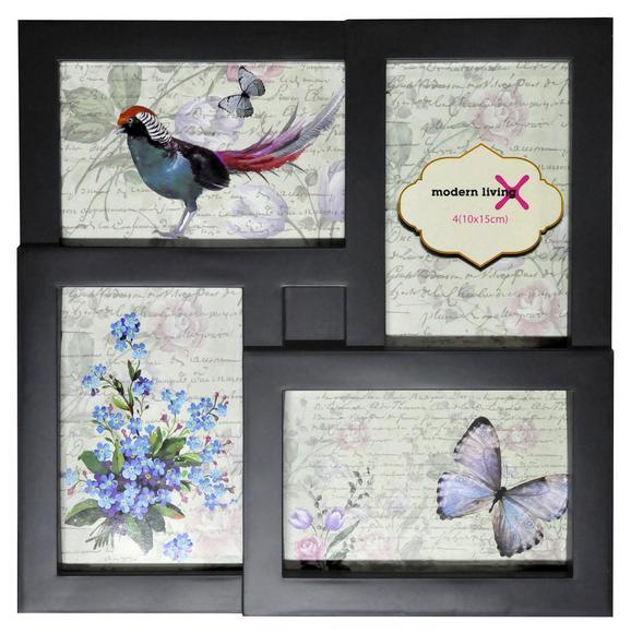 Okvir Za Slike Rebecca -based- - roza/črna, karton/umetna masa (29,2/29,2/2,5cm) - Based