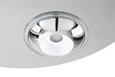 LED-Deckenleuchte Niklas - Chromfarben, MODERN, Kunststoff/Metall (50/50/7,5cm) - Premium Living