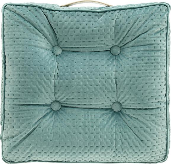 Sitzkissen Miley 45x45cm - Mintgrün, MODERN, Textil (45/45/8cm) - MODERN LIVING