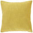 Párnahuzat Leinenoptik 50/50 - Sárgaréz, Textil (50/50cm) - Mömax modern living