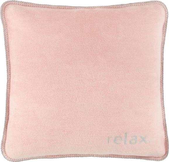 Okrasna Blazina Relax - roza/svetlo siva, Konvencionalno, tekstil (50/50cm) - Premium Living