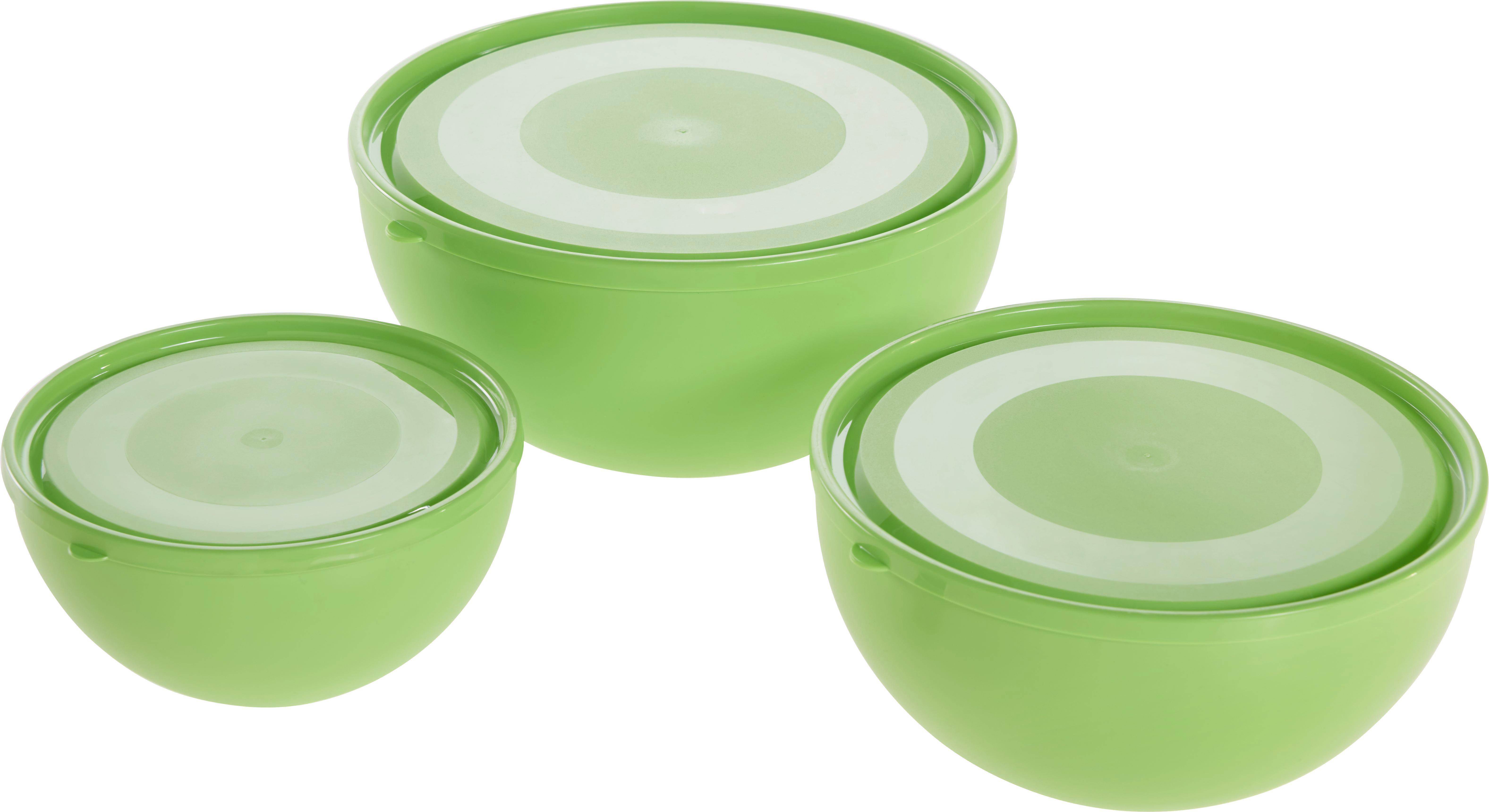 Tál Szett Nena - türkiz/zöld, műanyag - MÖMAX modern living